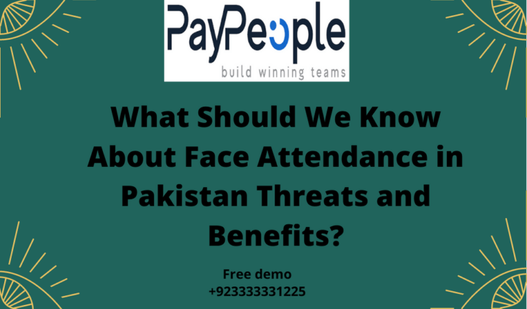 """PeopleQlik #1 Face Attendance in Pakistan sounded like a sci-fi fantasy a few years ago, but now we can unlock our phones by scanning our faces. Isn't that fantastic?  Face recognition has many advantages for organizations, but it also has several drawbacks that are a source of concern for both businesses and individuals.     The principle of operation  Face recognition is an artificial intelligence (AI)-based system for recognizing human faces. Isn't it straightforward?  In fact, for successful facial recognition, the technology takes into account a number of factors, including the length of the jawline, the form of the cheekbones, the depth of the eye sockets, and so on. All of these elements aid the technology in """"remembering"""" who owns the face. The capacity of the machine to """"learn"""" is at the heart of facial recognition technology. So, if you want to use technology to improve your operations, make sure you have enough data to """"feed"""" the machine.  Let's look at the pros and hazards of facial recognition now that we have a better understanding of how it works.  Benefits of facial recognition include increased security and labor automation  Aside from unlocking your phone, facial recognition has significant advantages for businesses.  # Improved security  The first step is to establish surveillance. It will be easy to trace down any robbers, thieves, or other trespassers using face attendance in Pakistan. On a state level, machine learning can be used to detect terrorists or other criminals simply by scanning their faces. The fact that the technology cannot be hacked is an added bonus: there is nothing to steal or change, unlike a password, for example.  In terms of personal security, facial recognition can be used to secure personal devices and for personal identification.  # Processing time is reduced  Recognizing a face takes a fraction of a second or less, which is extremely advantageous to businesses.  Companies need a system that is both secure and speedy in """