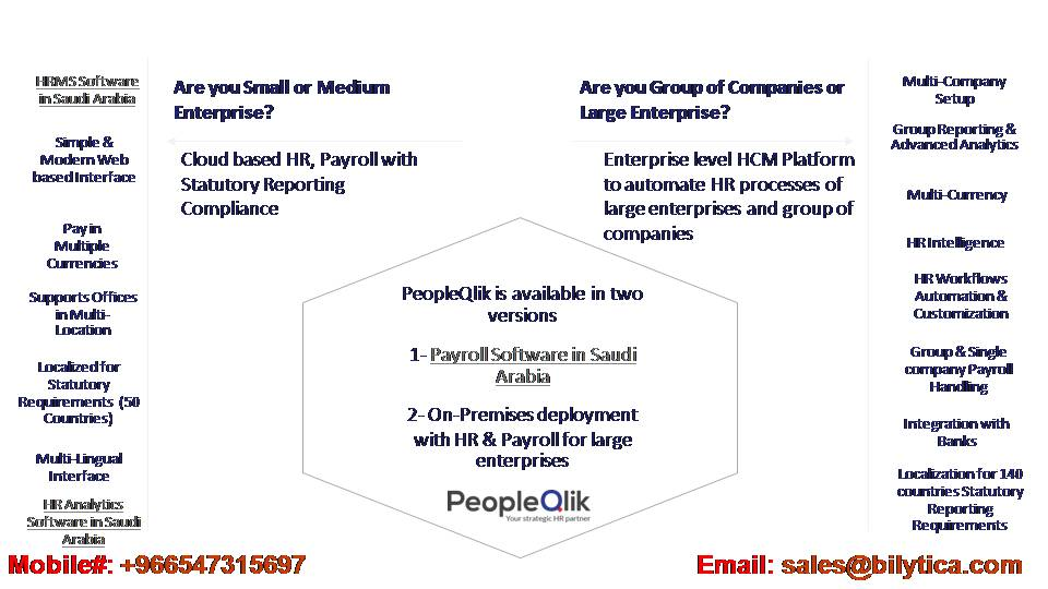 The advantages of integrating Payroll Software in Saudi Arabia to eliminate manual work